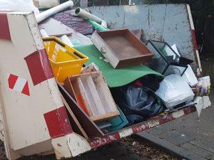 Container voor ontruimingen