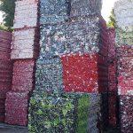 Metaal afval blik