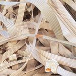 Metaal afval kabels