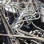 Metaal afval oud ijzer